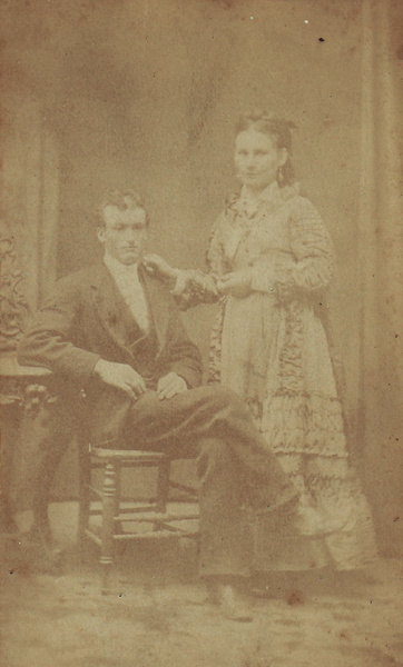CDV M&W Couple by speakswithmusic
