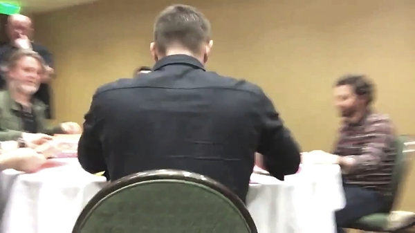 Misha FB Livestream HousCon GreenRm 2016 by Val S.
