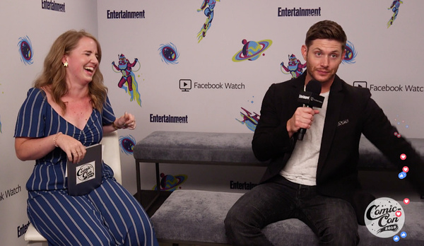 Jensen EW Interview Live Caps by Val S.