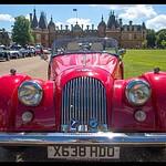 Old car show at Waddesdon Manor