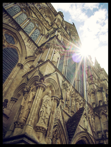 Salisbury Cathedral by JenaAlbazi