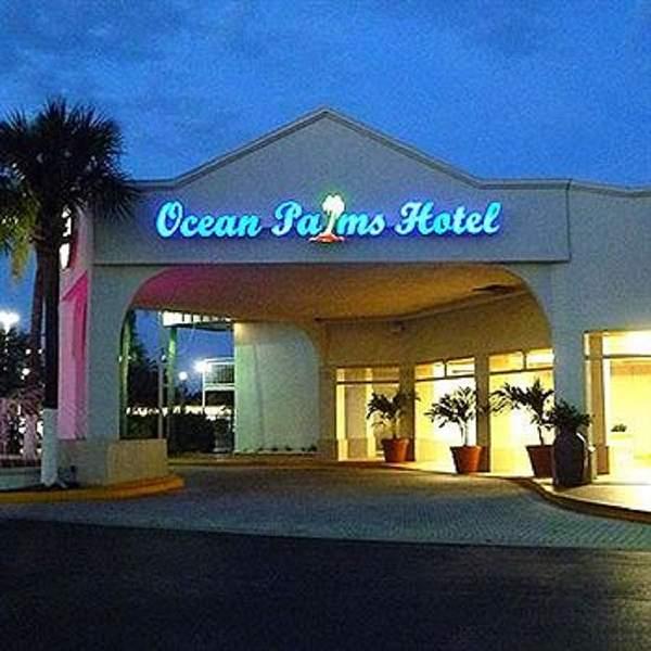 Ocean Palm Hotel Tropicana Field St. Petersburg