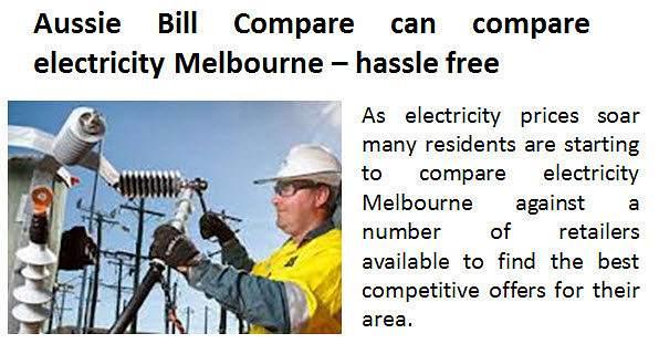 Compare Electricity Prices Victoria