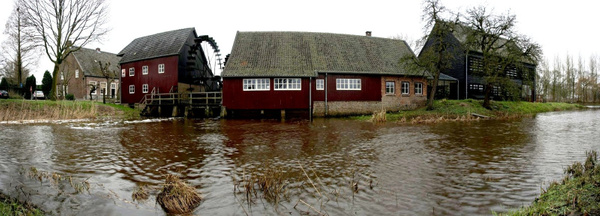 Pano_Opwettense-Watermolen_20130203 by Franklin