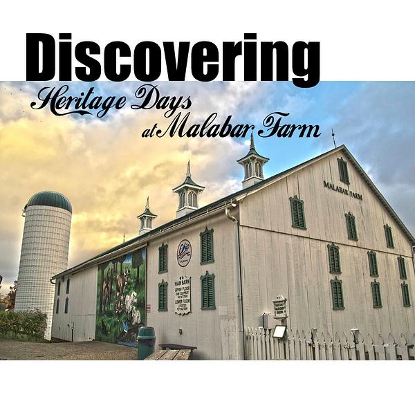 Print Design:  Malabar Farms:  Heritage Days Photo Book...