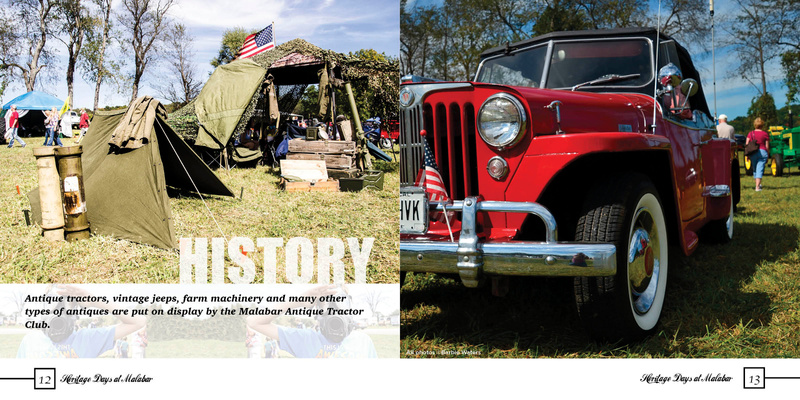 Print Design:  Malabar Farms:  Heritage Days Photo Book