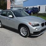 15 BMW X1 SILVER