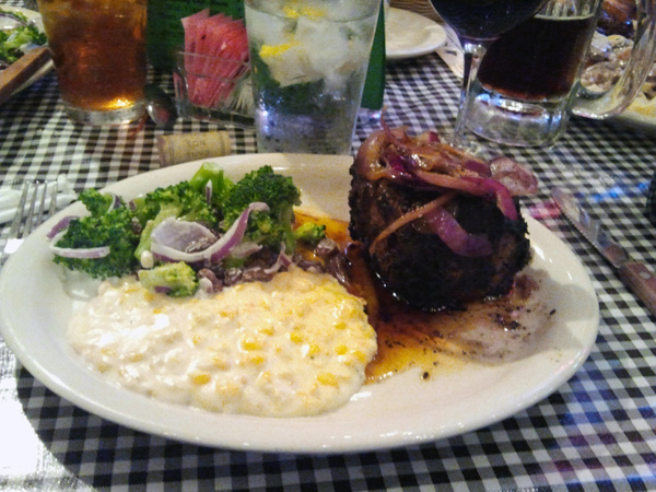 Birthday steak dinner! by DellHollingsworth