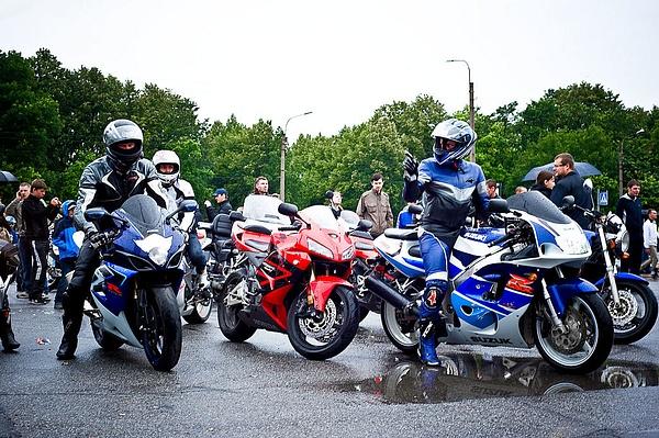 bikers. by AnatolyiZubkov