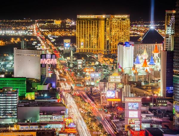 Las Vegas Strip by SBerzin