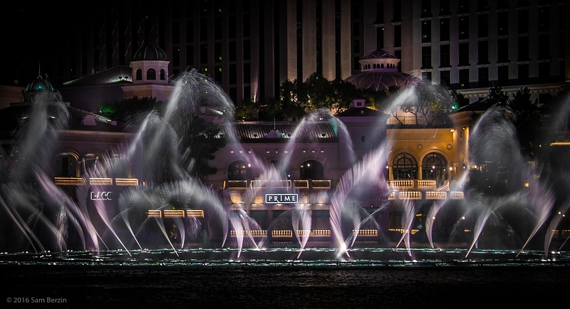 Dancing fountains Bellagio