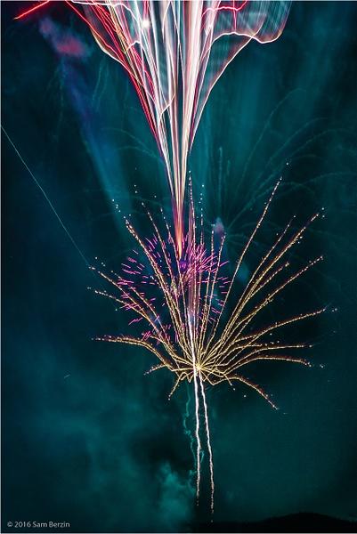 Fierwork 4th of July by SBerzin