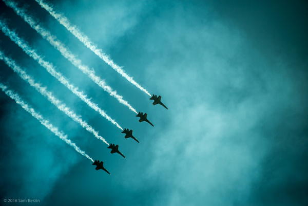Blue Angels by SBerzin