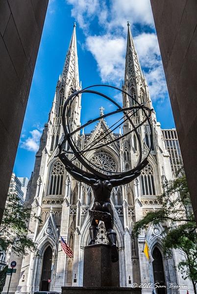 St. Patrick's Cathedral, New York by SBerzin