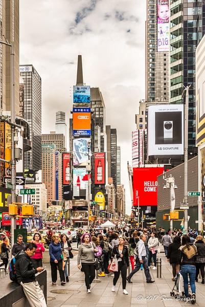 Time Square by SBerzin