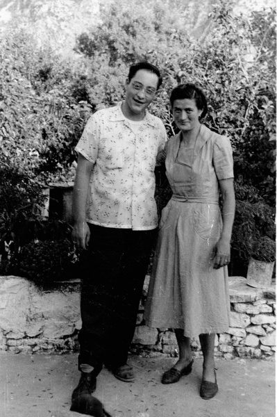 Nikko and Marion Xanthea in 1952 by PeterPlusMaria