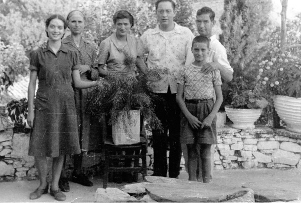 Nikko visits the Xantheas family in Tseria in 1952 by...