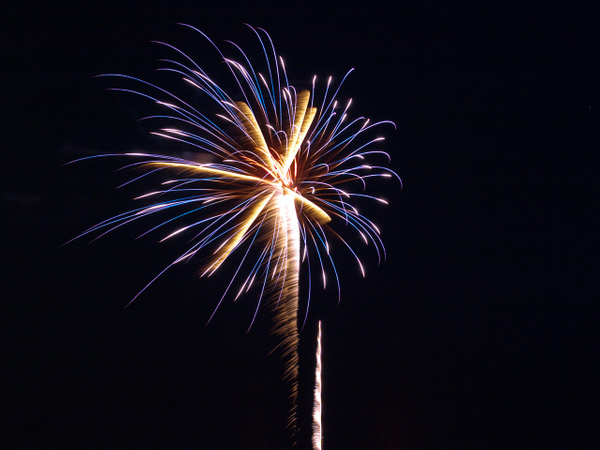 Newcastle OK Fireworks 2010 by n2sooners