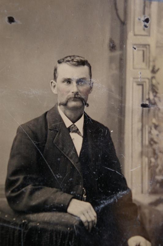 Alex McSween ca. 1877