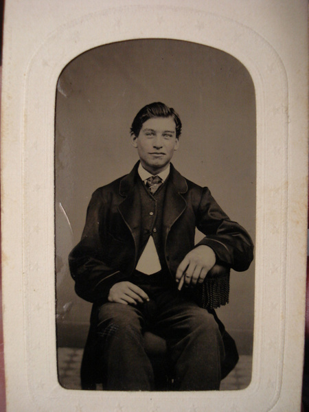 John H. Tunstall ca. 1877 by stepmac