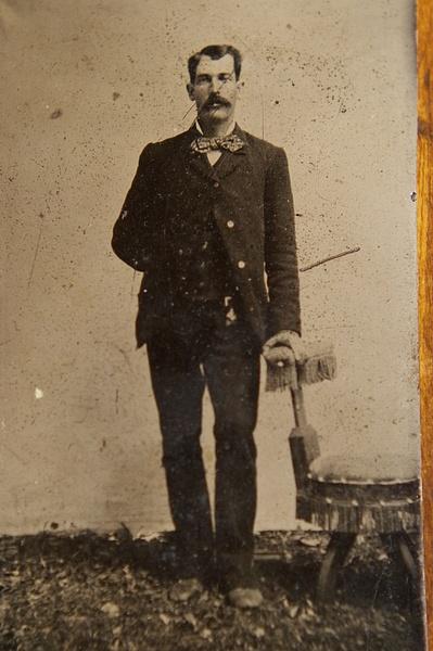 Sheriff Wm. Brady ca. 1877 by stepmac