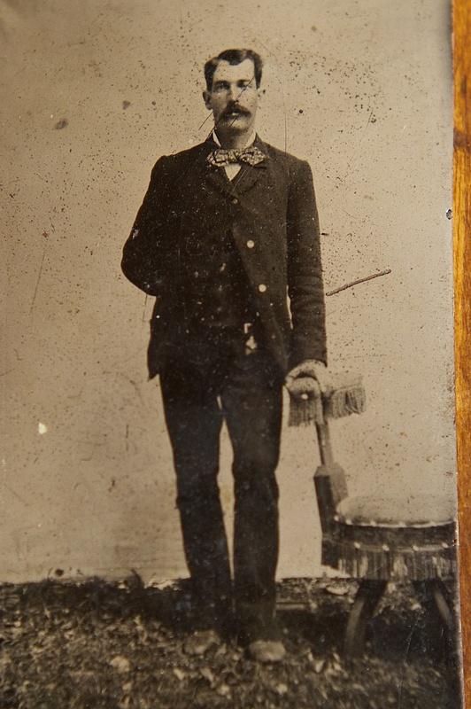 Sheriff Wm. Brady ca. 1877