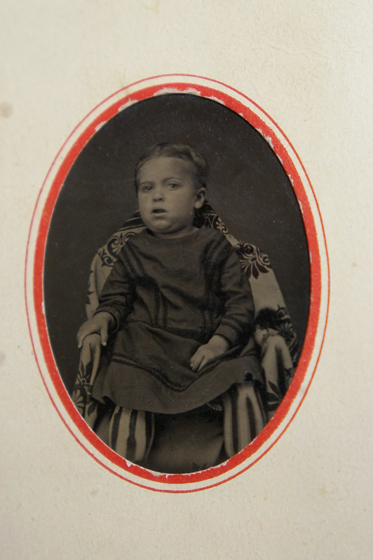 Tulley child ca. 1873