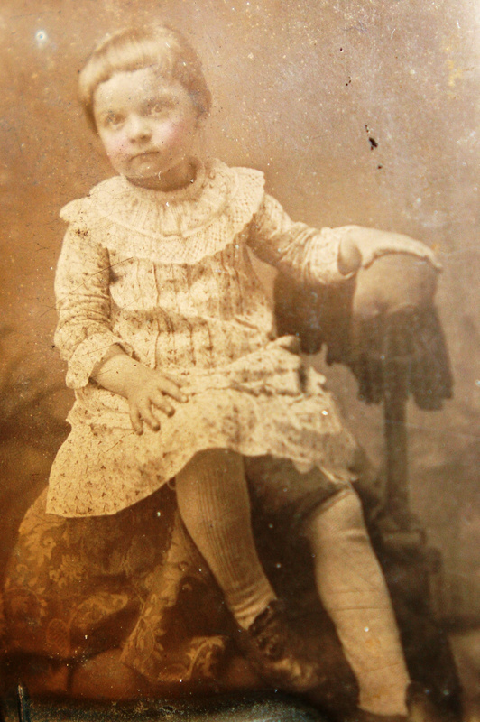 Tulley child ca. 1875
