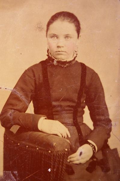 Inez Simpson ca. 1875 by stepmac