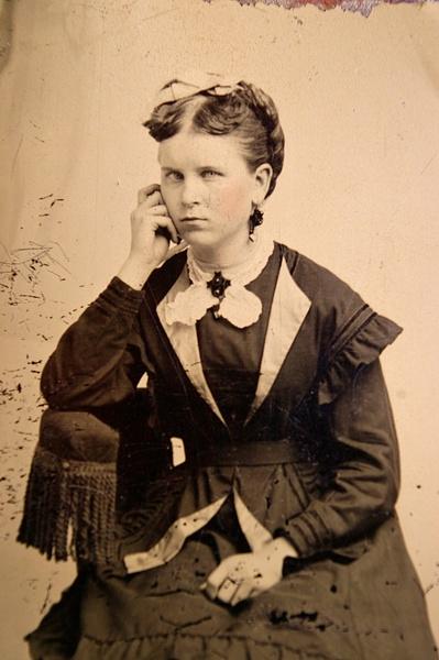 Matilda Davis ca. 1870 by stepmac
