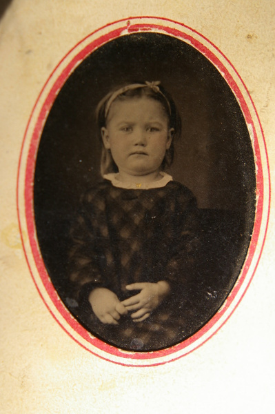 Toddler Sallie ca. 1861 by stepmac