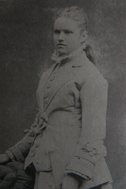 Sallie Chisum ca. 1875