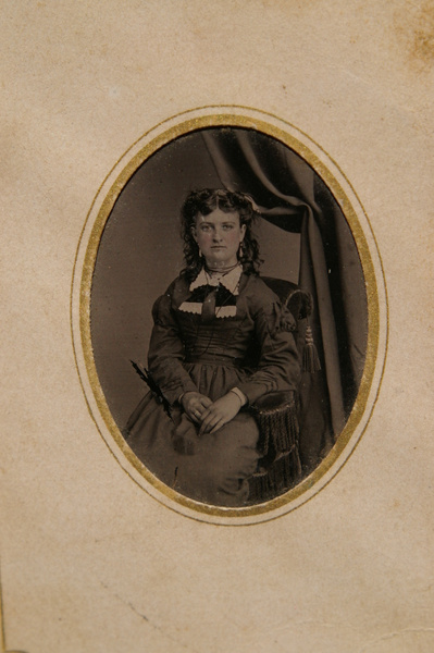 Angie Clouse ca. 1875 by stepmac