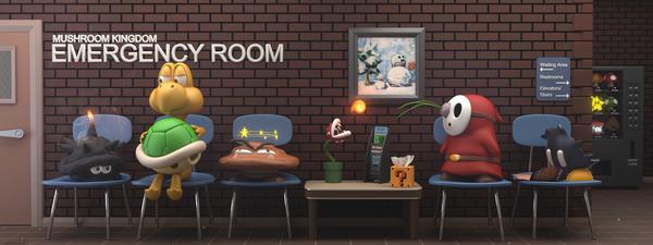 Mario_Waiting_Room by UserName