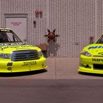 Menards Cup & Truck Race Cars