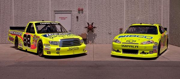 Menards Cup & Truck Race Cars by SDNowakowski