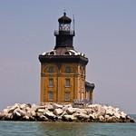 Toledo Harbor Lighthouse in Lake Erie