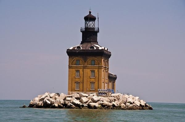 Toledo Harbor Lighthouse in Lake Erie by SDNowakowski