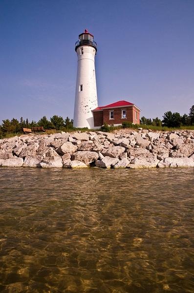 Crisp Point Light - UP - Lake Superior by SDNowakowski
