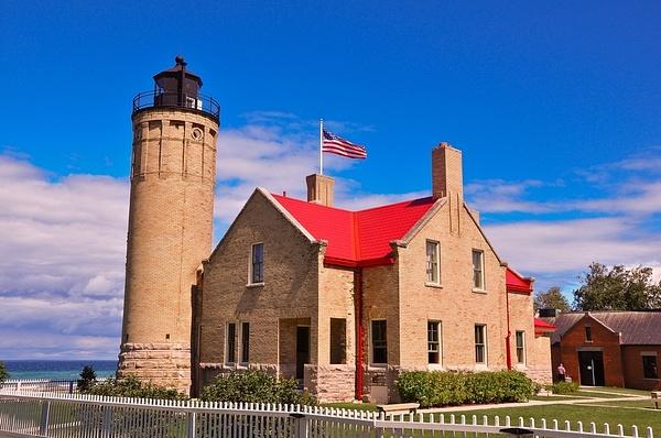 Old Mackinaw Point Lighthouse by SDNowakowski