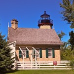 Old Mcgulpin Point Lighthouse - Northern Michigan