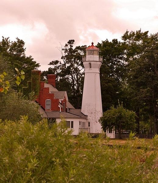 Port Sanilac Lighthouse - Lake Huron by SDNowakowski