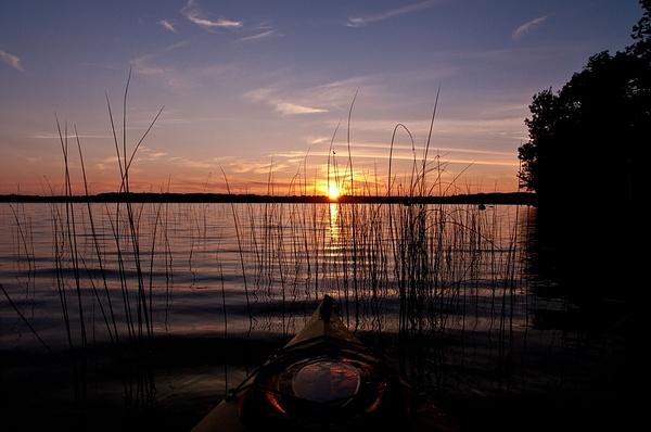 Interlochen State Park in Northern Michigan by...