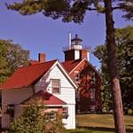40-Mile Point Lighthouse on Lake Huron