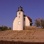 Point Betsie Lighthouse on Lake Michigan taken in 2010
