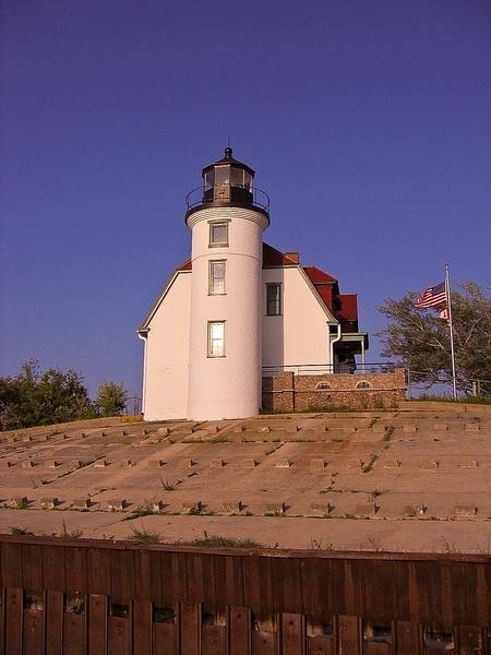 Point Betsie Lighthouse on Lake Michigan taken in 2010...
