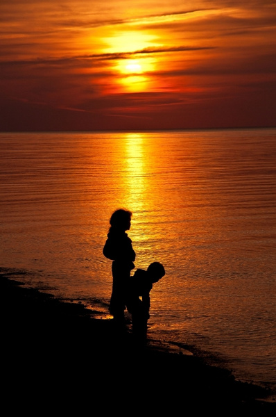 Sunrise & Sunset Pictures from the Upper Peninsula of...