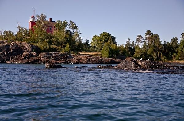 Marquette Harbor Lighthouse-2 by SDNowakowski