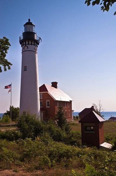 Ausable Point Lighthouse by SDNowakowski