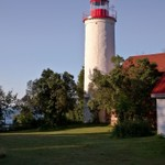 Jacobsville Lighthouse on The Keweenaw Peninsula of Michigan